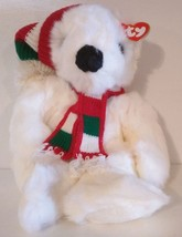 TY BEANIE BUDDY – COLLECTIBLE 1997 HOLIDAY CHRISTMAS BEAR Style 5700 - $17.58