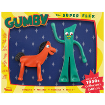 Gumby and Pokey 1950 TV Show Bendable Figure Set - $14.84