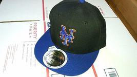 New Era 59 Fifty Mlb New York Mets Baseball Hat Cap Sz 6 1/2 Youth - $15.00