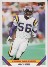 Chris Doleman 1993 Topps Card #245 - $0.99