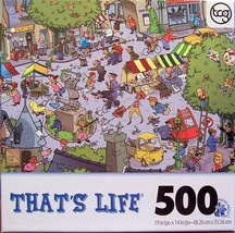 Sure-Lox That's Life Walk in the Park by Goliath 500 Piece Jigsaw Puzzle - $29.95