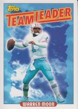 Warren Moon 1993 Topps Team Leaders Card #265 - $0.99