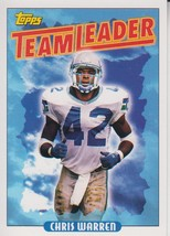 Chris Warren 1993 Topps Team Leaders Card #274 - $0.99