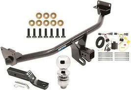 COMPLETE TRAILER HITCH PKG W/ WIRING KIT FOR 16-17 HYUNDAI TUCSON REESE ... - $207.85