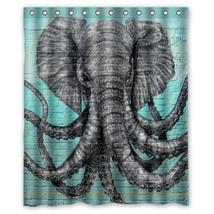 Octophan Pattern #04 Shower Curtain Waterproof Made From Polyester - $31.26+