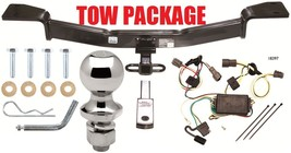 Complete Trailer Hitch Tow Package ~ 1 1/4 Inch Receiver ~ No Drill ~ Fast Shipp - $239.30