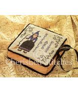 Witchy Witch Needlebook & Pinkeep cross stitch chart Cherished Stitches  - $10.80
