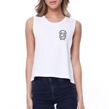 Nonono Alarm Clock Crop Tee Back To School Shirt Junior Tank Top - $14.99