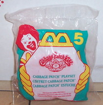 1995 Mcdonalds Cabbage Patch Kids Playset Happy Meal Toy #5 MIP - $5.00
