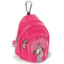 NICI Jolly Lovely Mini Rucksack / Backpack in hot pink - $45.00