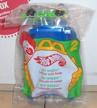 1995 Mcdonalds Happy Meal Toy Hot Wheels #2 Vehicle with Ramp MIP - $5.00