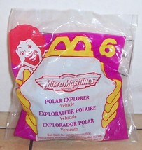 1996 Mcdonalds Happy Meal Toy Micro Machines #6 Polar Explorer MIP - $5.00