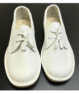 Vintage 1995 NOS Storybook Heirlooms Kids Girls Size 12 White Curly Q Shoes - $19.35