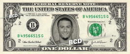 COLIN KAEPERNICK on a REAL Dollar Bill 49ers Football NFL Cash Money Col... - $5.55