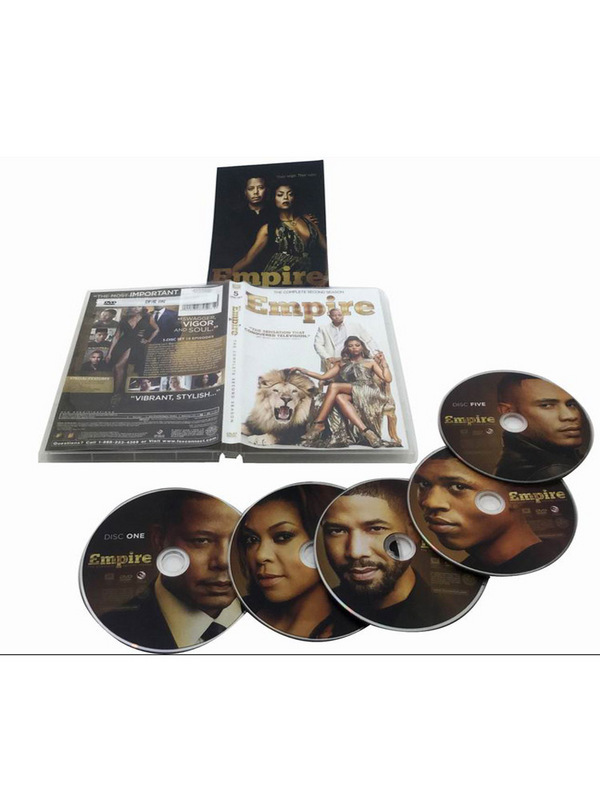 Empire The Complete Second Season 2 DVD Box Set 5 Disc Free Shipping