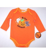 "NWT Infant's Unisex ""My First Halloween"" Orange... - $6.99"
