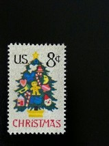 1973 8c Christmas Needlepoint Tree, Ornaments Scott 1508 Mint F/VF NH - $0.99
