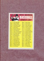 1970 Topps # 542 6th Series Checklist Nice Card Unmarked - $3.99