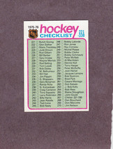 1975-76 Topps # 267 Checklist 221-330 Unmarked NM - $3.99