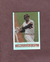 2003 Topps Gallery HOF Refractor # 51 Willie McCovey San Francisco Giants - $2.99