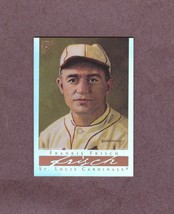 2003 Topps Gallery HOF Refractor # 14 Frankie Frisch St. Louis Cardinals - $2.99