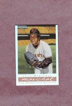 2003 Topps Gallery HOF Refractor # 36 Juan Marichal San Francisco Giants - $2.99