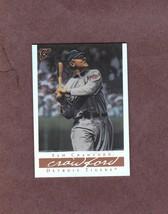2003 Topps Gallery HOF Refractor # 6 Sam Crawford Detroit Tigers - $2.99