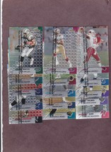 Lot of 15 Different 1999 Topps Finest Football Gems Short Prints with Stars - $10.99