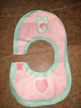 Vintage 1997 Caring Touch Surprise Mealtime Doll Replacement Bib.. Rever... - $9.49