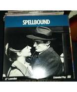 Hitchcock Spellbound Ingrid Bergman Gregory Peck classic laserdisc - $22.99