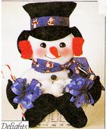GIFT BASKETS *SANTA DALMATION SNOWMAN HEN LION BABY + MCCALLS 7641 OOP P... - $12.98
