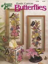 Butterflies, Annies Plastic Canvas Pattern 87F86 Pictures Tissue & More ... - $12.95