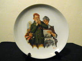 Norman Rockwell -Helping Mother- Collectors Plate- Japan - $16.95
