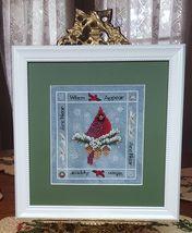 When Cardinals Appear cross stitch chart Blackberry Lane Designs   - $12.60