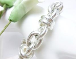 """Arte d'Argento Sterling Bold Fancy Link Bracelet Small Wrist 6-1/2"""" - $79.00"""
