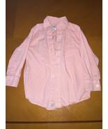 Boys Kids Children's Place Orange Plaid Long Sleeve Button Down Shirt Si... - $6.92