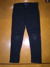 Kids Girls The Children's Place Denim Light Black Jeggings Jeans Stretch... - $7.91