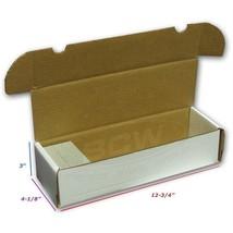 Bundle 50x BCW 660 COUNT Corrugated Cardboard Storage Box - Sports Cards... - $24.97