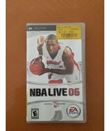 NBA Live 06 2006 for PSP PlayStation Portable EMPTY CASE BOX w Booklet - $3.95