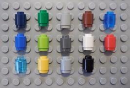 Lego Lot Of 20 Brick Round 1x1 Open Stud 3062 P... - $0.99