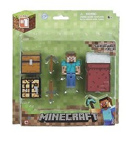 Minecraft Overworld Survival Pack with Action Figure Steve? - 16450 - NEW - $25.35