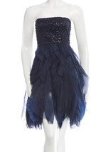 Alice + Olivia Silk Strapless Dress sz XS 0 - $115.00