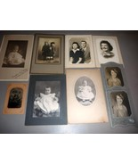 Eldredge Family (9) Antique Photos - Portland ME / Exeter NH - $157.50