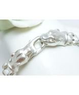Sterling Silver Panther Head Link Bracelet 7 in... - $57.00