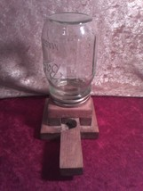 HANDCRAFTED, PRIMITIVE NUT AND CANDY DISPENSER, HOME DECORE - $16.33