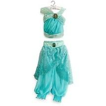 Princess Jasmine Dress Gown Costume Disney Store Size 5/6  NEW!!! - £43.01 GBP