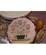 Faded Garden Sewing Box chart by Black Branch Needleworks    - $7.20