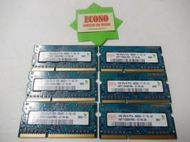 Hynix 6GB (6x1GB) 2Rx16 PC3-8500S DDR3 HMT112S6AFR6C Laptop Memory RAM - $41.58
