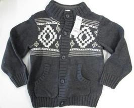 Gymboree long sleeve cardigan sweater jacket SIZE S 5/6 BRAND NEW - $16.78