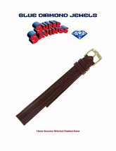 Speidel Brown 14mm Gen. Padded Stitched Gator Water Resistant CHEAP! - $9.95